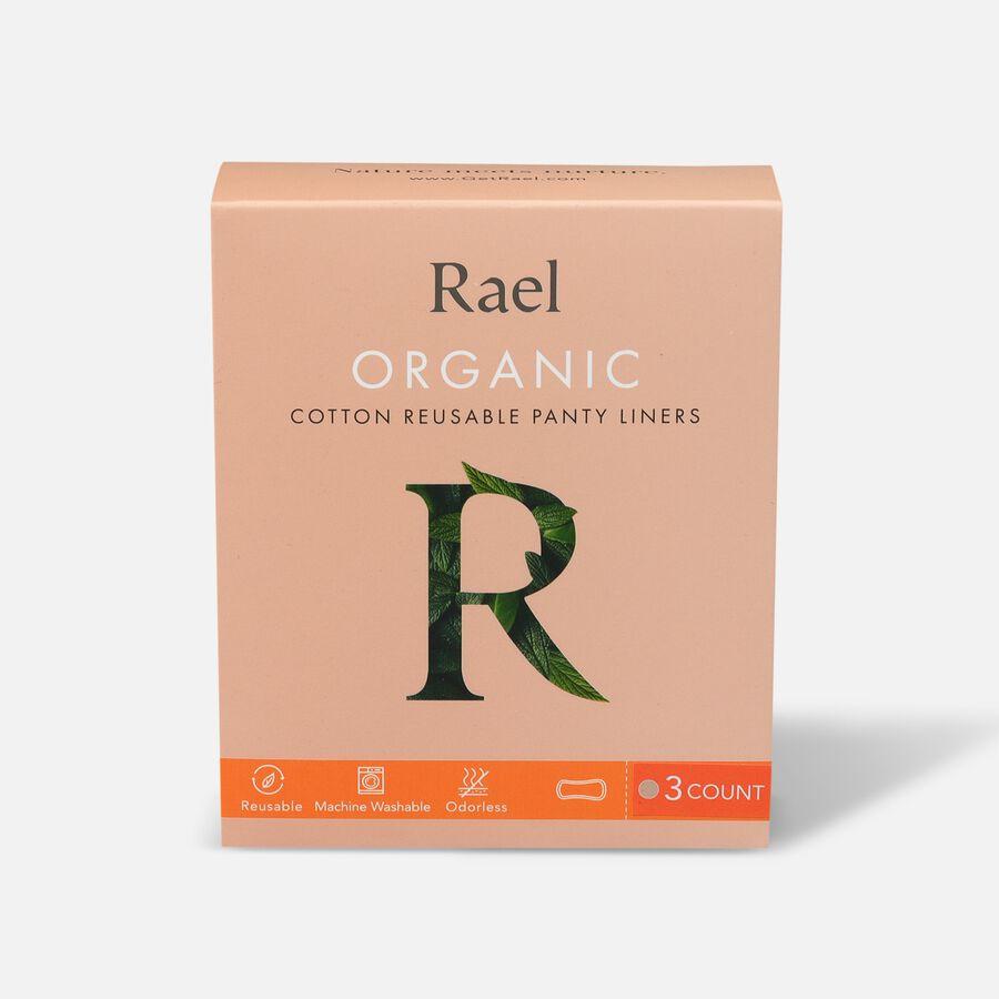 Rael Organic Cotton Reusable Panty Liners - Regular/Nude, 3ct, , large image number 0