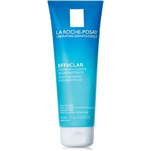 La Roche-Posay Effaclar Deep Cleansing Foaming Cream Cleanser, 4.22 oz