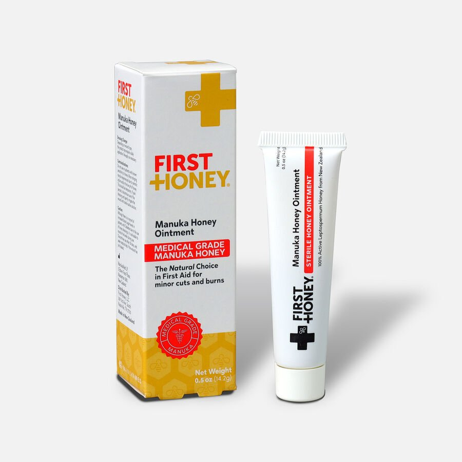 First Honey Wound Healing Ointment, 0.5 oz, , large image number 2