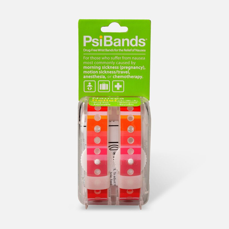 Psi Bands Nausea Relief Wrist Bands - Color Play, , large image number 0