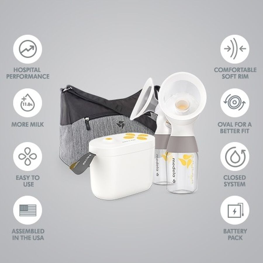 Medela Pump In Style Double Electric Breast Pump with Max Flow Technology, , large image number 6
