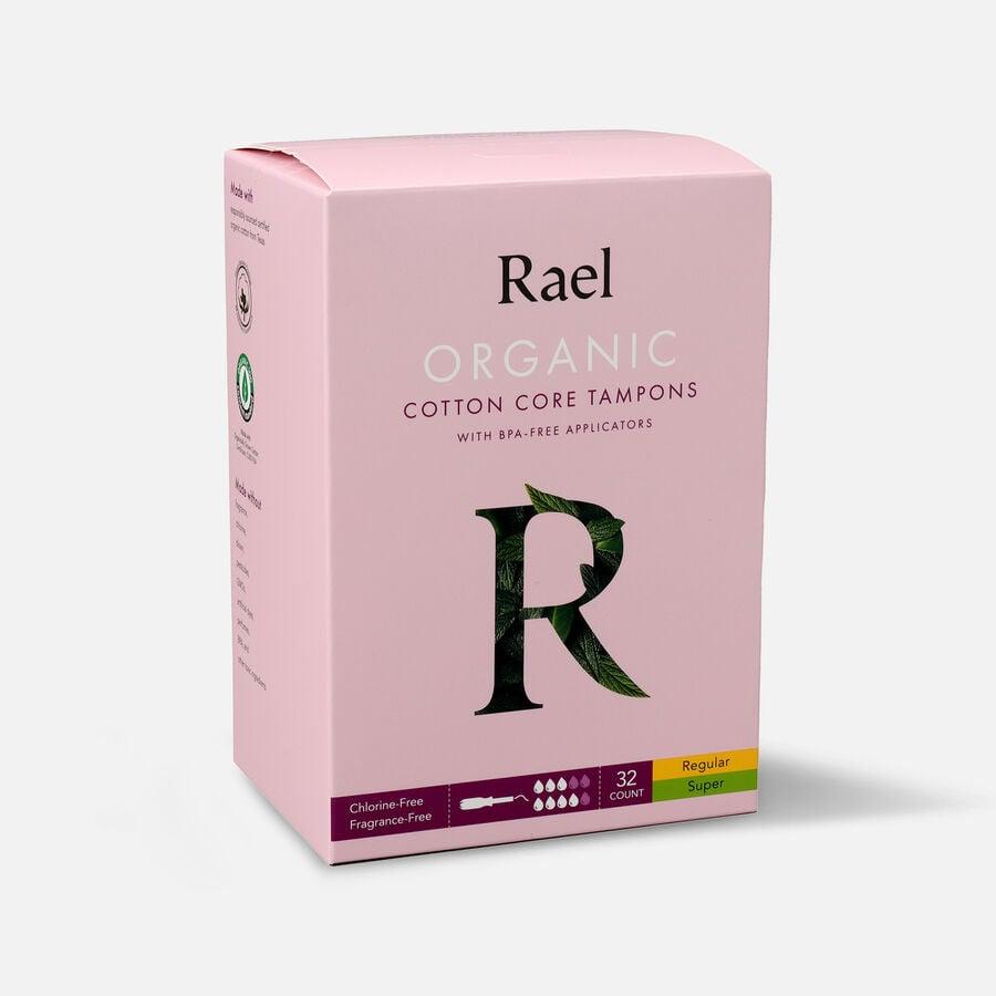 Rael Organic Cotton Core Tampons with BPA-Free Applicators, , large image number 5