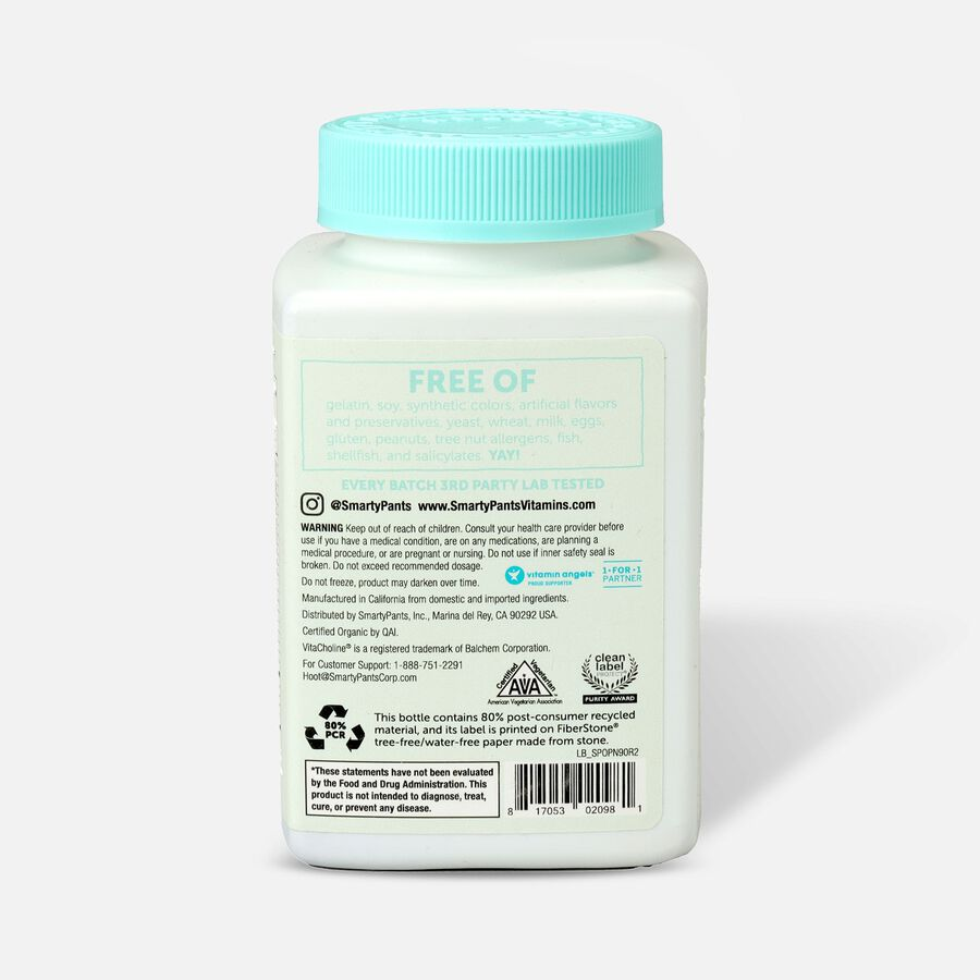 SmartyPants Organic Prenatal Gummy Vitamins, 90 ct, , large image number 1