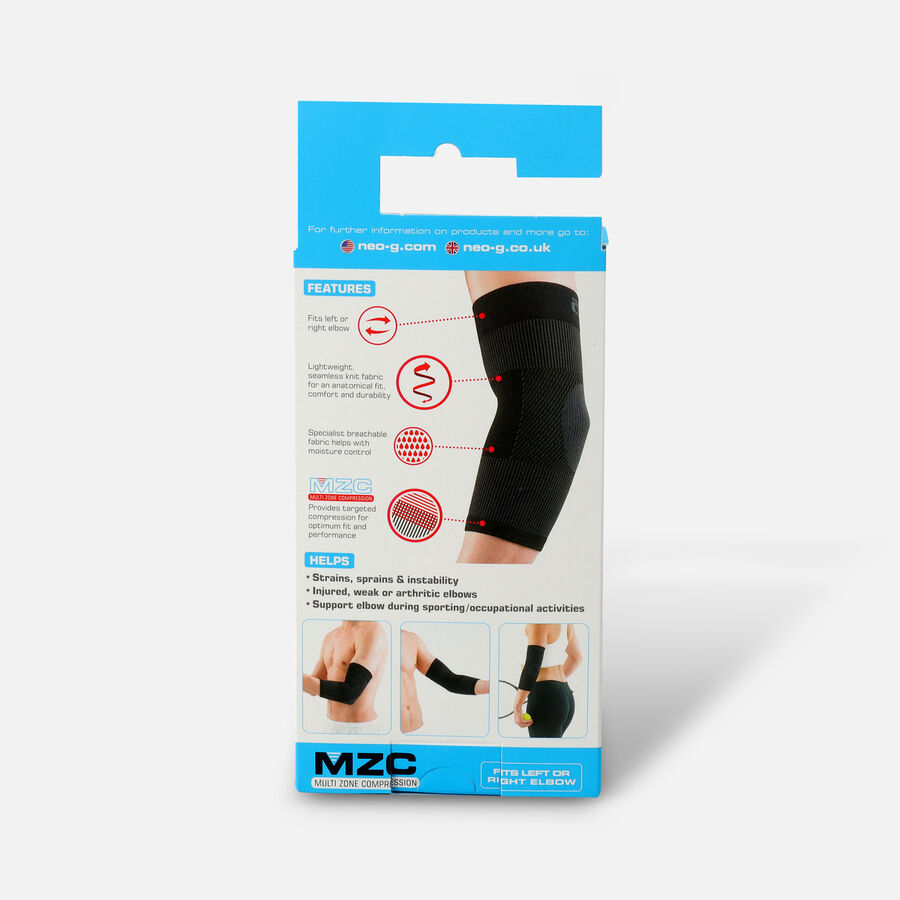 Neo G Airflow Elbow Support, Black, , large image number 1