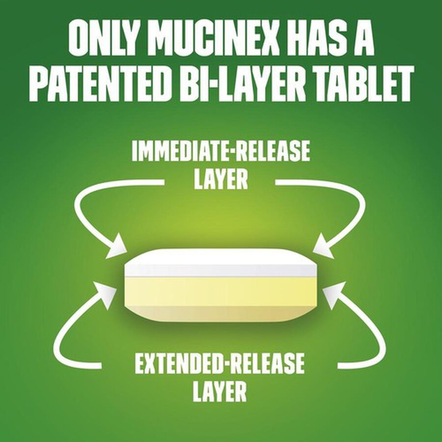 Mucinex Max Strength Extended Release Bi-Layer Tablets, 14 ct, , large image number 2