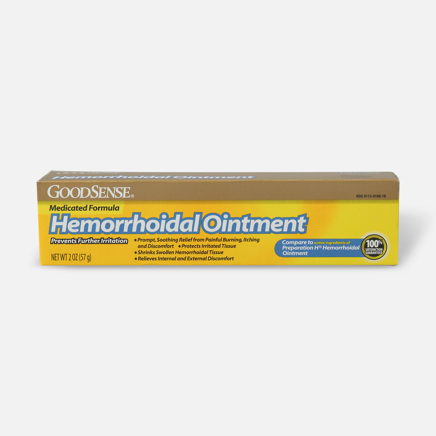 GoodSense® Hemorrhoidal Relief Suppositories, 24 ct, , large image number 0