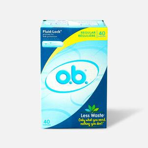 o.b. Regular Tampons, 40ct