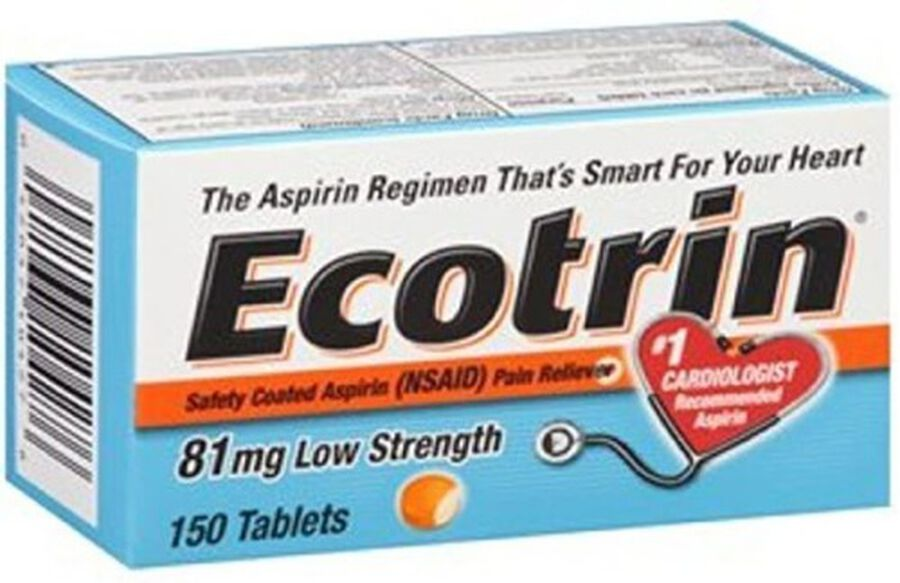 Ecotrin, Low Strength Aspirin, , large image number 1