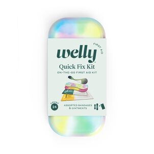 Welly Colorwash Quick Fix Kit First Aid Travel Kit - 24ct