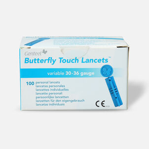 Butterfly Touch Lancets (100 count)