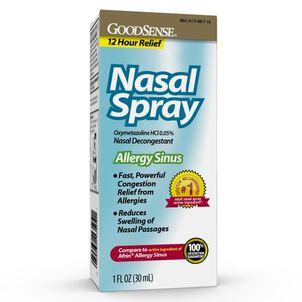 GoodSense® Nasal Spray Sinus 12 Hour 1 Oz