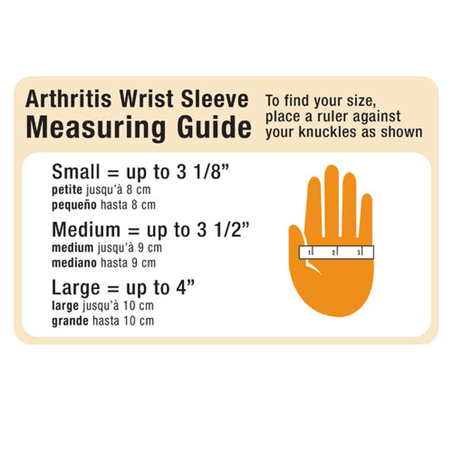 IMAK Compression Arthritis Wrist Sleeve, Small, , large image number 3