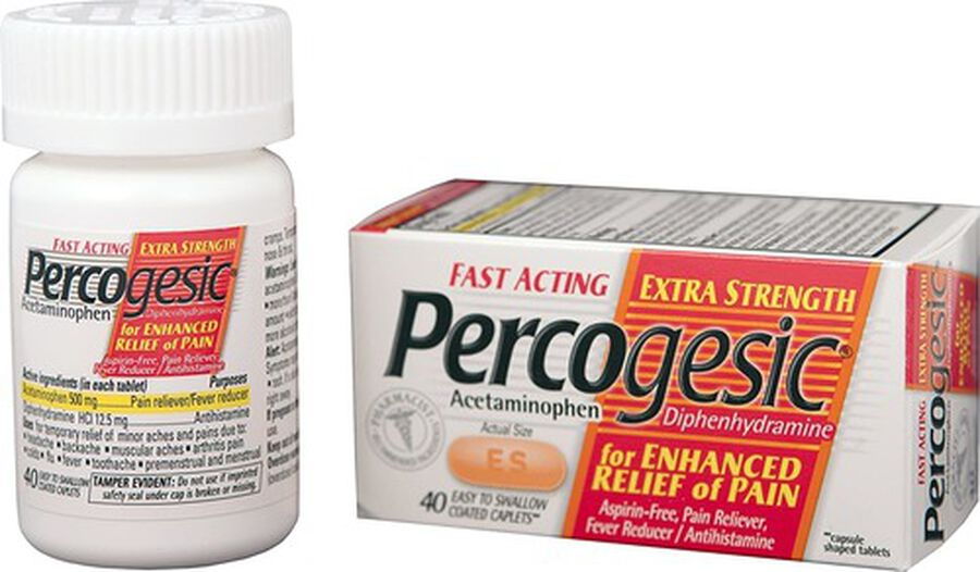 Percogesic, Extra Strength, 40 count, , large image number 0