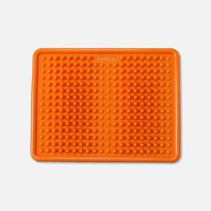 KanjoAcupressure Foot Pain Relief Mat, Orange